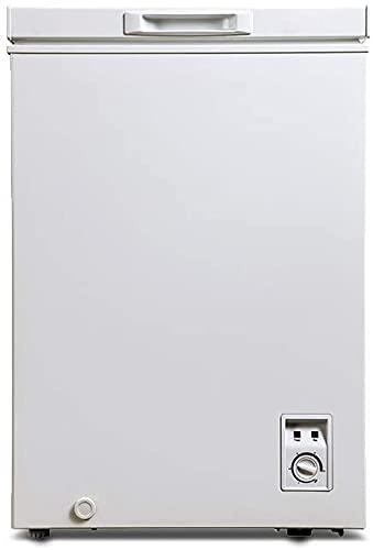 CHiQ FCF98D Gefrierschrank Klein 98 L | Gefriertruhe Klein mit statischem Kühlungsystem | Tiefkühlschrank | 84,5 x 56,8 x 56 cm (HxBxT) | 12 Jahre Garantie auf den Kompressor