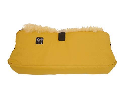 Kaiser 6573242 Handwärmer Big Double, mustard yellow, gelb