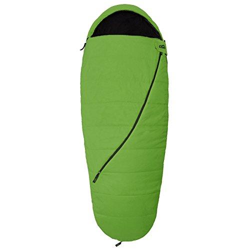 Qeedo - Buddy Schlafsack in Eiform, Mumienschlafsack für Damen und Herren, Extra Breite 90 cm