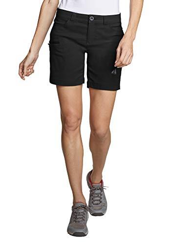 Eddie Bauer Damen Guide Pro Shorts Sportlich Shorts Polyamid Wandern Wasserabweisend Atmungsaktiv Bluesign für die leicht kurvige Figur Stretch