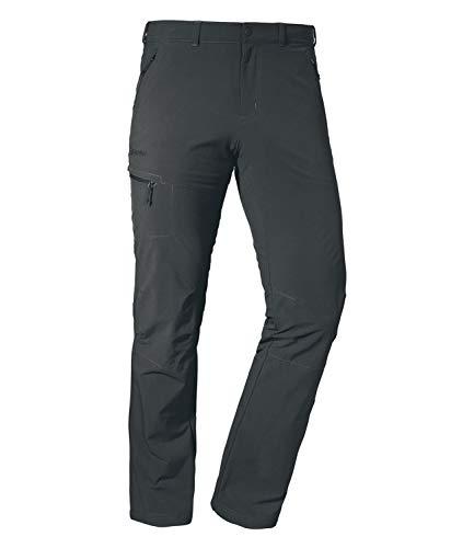 Schöffel Herren Pants Koper1 bequeme und robuste Herren Hose mit 4-Wege-Stretch, elastische und wasserabweisende Wanderhose für Männer, asphalt, 24
