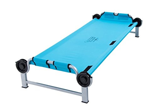 Disc-O-Bed Kid-O-Bed blau, gerader Rahmen