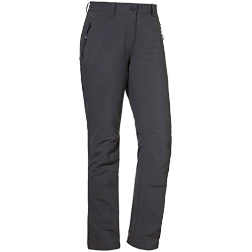 Schöffel Damen Pants Engadin Hose Unwattiert, charcoal, 17