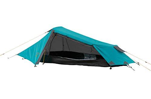 Grand Canyon Richmond 1 - Tunnelzelt für 1 Person   Ultra-leicht, wasserdicht, kleines Packmaß   Zelt für Trekking,Camping,Outdoor   Blue Grass (Blau)