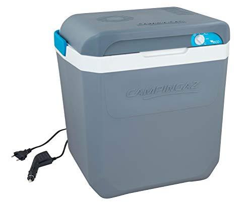 Campingaz Powerbox Plus 28L, elektrische Kühlbox, 12V Anschluss, Platz für 8 x 1.5L Flaschen, strombetriebene Kühlbox, Thermobox für Auto & Campingplatz, mit Batteriewächter, 28 Liter