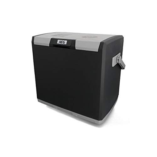 AEG Automotive 10697 Thermoelektrische Kühlbox KK 28 Liter, 12/230 Volt für Auto und Steckdose