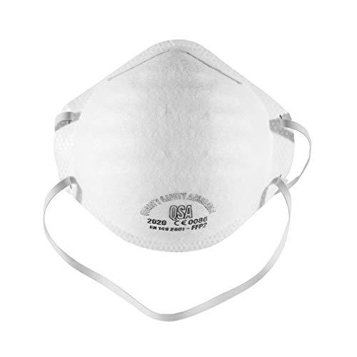 1 Stück Ffp2-stirnband-rundmaske, Atmungsaktiv Und Bequem, Staubdicht, Beschlagfrei Und Pm2.5, Für Heimdekoration, Reiten Im Freien, Reinigen Usw.