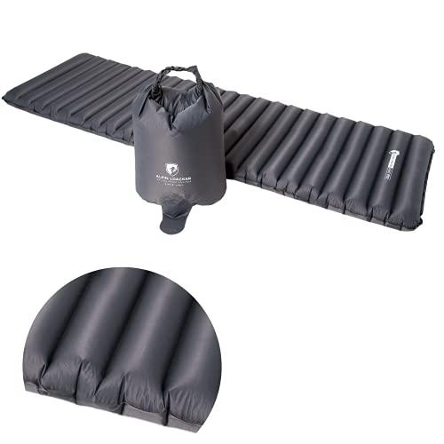 Alpin Loacker Light Pro aufblasbare Ultra-leichte Outdoor Isomatte 690g und 8cm dick 2.0 NEU | Schlafmatte | kleines Packmaß