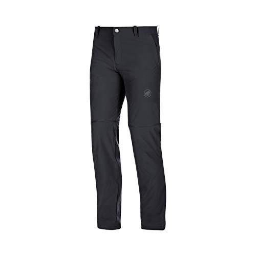 Mammut Herren Wander-Hose mit Reissverschluss Runbold Zip Off, schwarz, EU 46