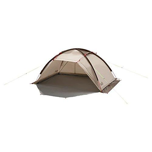 Jack Wolfskin Unisex– Erwachsene Bed & Breakfast Kuppelzelt für Camping, Sahara, 235 x 225 x 120 cm