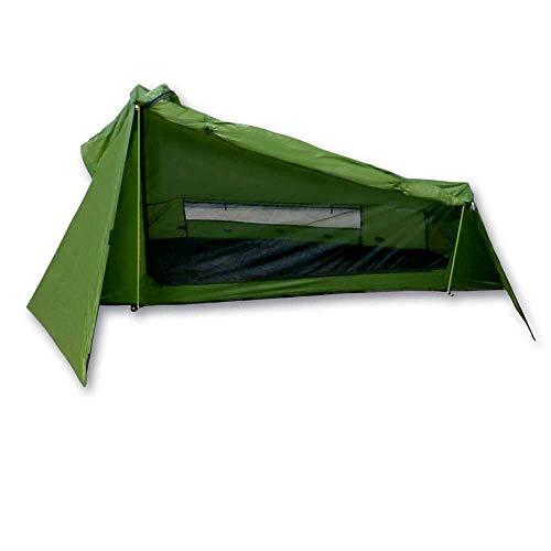 mapuera ultraleichtes Trekkingzelt Trek Santiago - EIN-Personen-Zelt Ultraleicht, kleines Packmaß, EIN-Mann-Zelt, Wanderzelt, auch mit Trekkingstöcken aufstellbar - das Leichtzelt für 1 Person