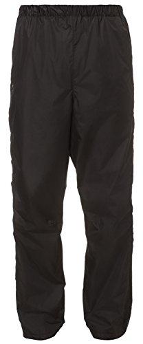 VAUDE Herren Hose Fluid Full-zip Pants II S/S, Schwarz , Gr. 52/L ,6343