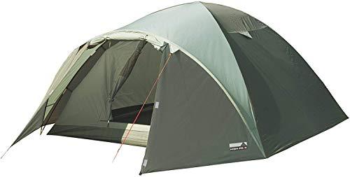 High Peak Kuppelzelt Nevada 4, Campingzelt mit Vorbau, Iglu-Zelt für 4 Personen, doppelwandig, 2.000 mm wasserdicht, Ventilationssystem, Wetterschutz-Eingang, Moskitoschutz