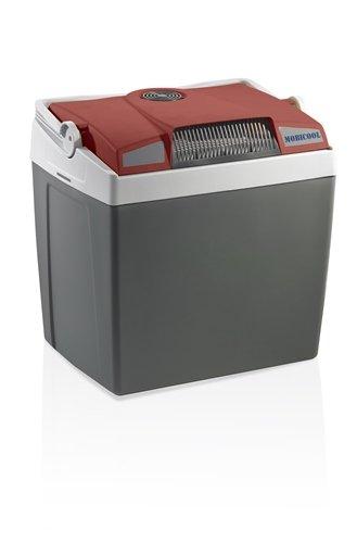 Mobicool G26 DC - elektrische Kühlbox mit USB-Anschluss zum Laden von Handys, anschlussfertig für Zigarettenanzünder im Auto, 12 Volt, Fassungsvermögen 25 Liter, Mini-Kühlschrank für Auto und Camping