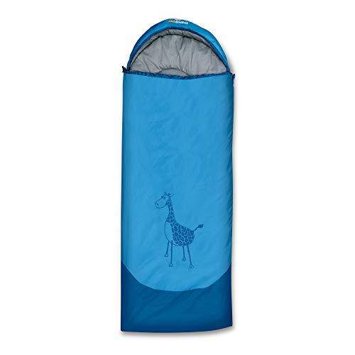 outdoorer Kinderschlafsack Dream Express Blau - Deckenschlafsack für Kinder