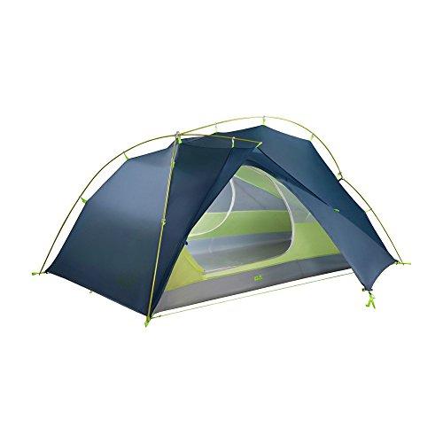 Jack Wolfskin Unisex– Erwachsene Exolight Iii Kuppelzelt für Camping, Steel Blue, Standard