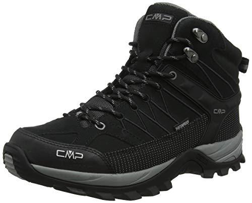 CMP – F.lli Campagnolo Herren Rigel Mid Trekking-& Wanderstiefel, Schwarz (Negro-Grey 73uc), 45 EU