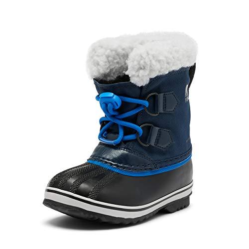 Sorel Unisex-Kinder-Winterstiefel, CHILDRENS YOOT PAC NYLON, Blau (Collegiate Navy, Super Blue), Größe: 25
