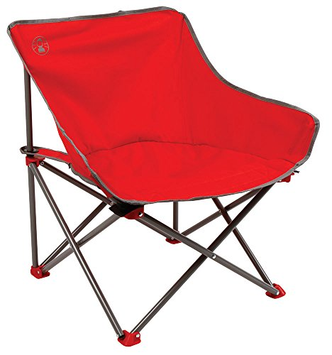 Coleman Leichter Kickback Camping-/Klappstuhl, mit stabilem Stahlgestell, klappbar, für Festivals, Angeln oder im Garten