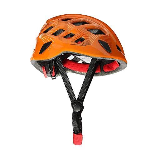 Homclo Klettern Helm Outdoor Rettung helmschutz Sport Kletterhelm aus Eps-Schaum für Wandern, Bergsteigen