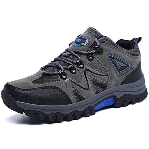 BAOLESEM Wanderschuhe Herren Damen wasserdicht Trekkingschuhe Männer Hiking rutschfest Bergschuhe Outdoor Sportlich Schuhe Größe 36-48