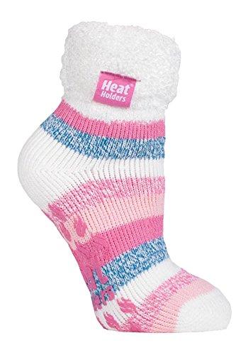 Heat HoldersThermo-Socken für Frauen, extra weich und flauschig, rutschfest, knöchelhoch