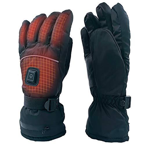 BZ Männer Frauen elektrisch beheizte Handschuhe Touchscreen-Handschuhe, Winter-warme arthritische Handschuhe, die Thermohandschuhe für das Wandern/Skifahren/Jagd-Sport im Freien simsen