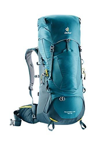 Deuter Unisex Aircontact Lite 40 + 10 Trekking Backpack, Denim-arctic, Einheitsgröße