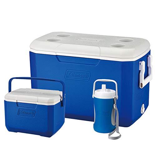 Coleman Passive Kühlbox Combo, 3 leistungsstarke Thermoboxen mit Fassungsvermögen 46 L, 4,7 L und 2 L