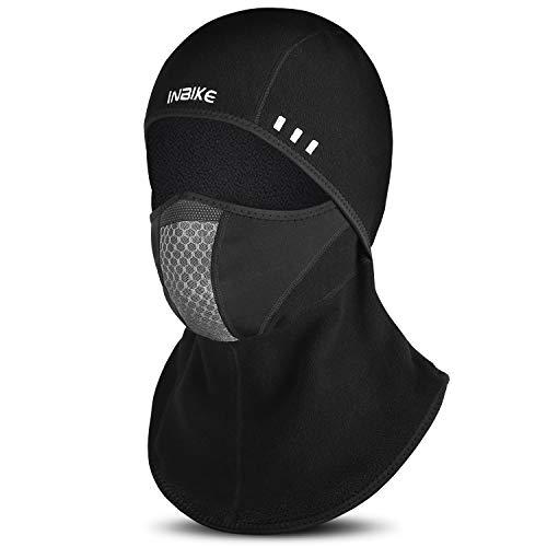 INBIKE Sturmhaube Winter Gesichtmaske Winddicht Atmungsaktiv für Motorrad Fharrad Skifahren Snowboard Und Andere Wintersporten