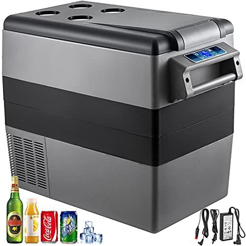 VEVOR Tragbare Kühlbox 55L Auto Kühlbox für Auto und Zuhause 220V