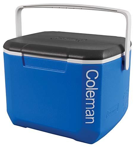 Coleman passive Kühlbox 16QT Excursion, kühlt bis zu 1 Tag, Thermobox mit 15 L Fassungsvermögen, mobile passiv Kühlbox mit stabilem Tragegriff