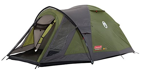 Coleman Darwin 3+ Zelt, 3 Personen, 3 Mann Zelt, Igluzelt, Festivalzelt, Leichtes Kuppelzelt mit Vorzelt, Wasserdicht WS 3.000 mm