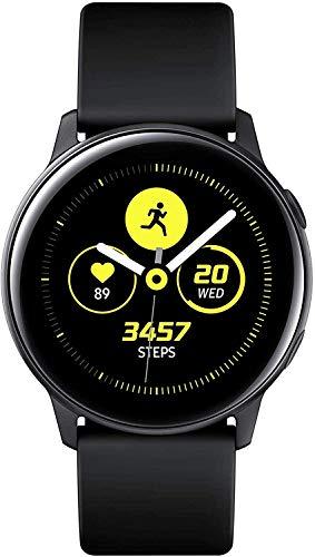 Samsung Galaxy Watch Active, Bluetooth Fitnessarmband Für Android, Fitness-Tracker, 40 mm,wassergeschützt, Schwarz (Deutche Version)