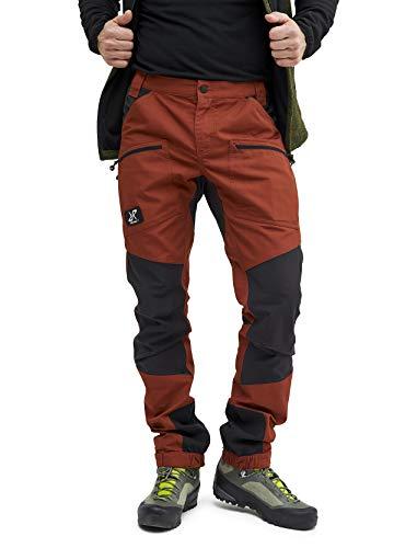 RevolutionRace Nordwand Pro Pants Herren Wasserabweisende, Atmungsaktive und Strapazierfähige Outdoorhose zum Wandern, Trekking, Camping, Klettern, Mountainbiken und Jagen, Jet Black, L
