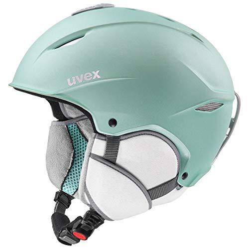 uvex Unisex- Erwachsene, primo Skihelm, mint mat, 52-55 cm