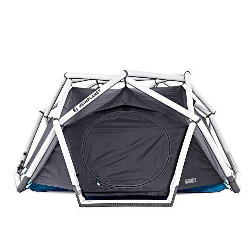 HEIMPLANET Original   THE CAVE 2-3 Personen Kuppelzelt   Aufblasbares Camping Zelt - In Sekunden errichtet   Wasserdichtes Außenzelt und Zeltboden - 5000mm Wassersäule   Keine Zeltstangen nötig   Unterstützt 1% For The Planet (Classic)