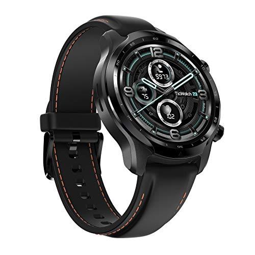 Ticwatch Pro 3 GPS-Smartwatch für Männer und Frauen, Wear OS von Google, Dual-Layer-Display 2.0, Lange Akkulaufzeit