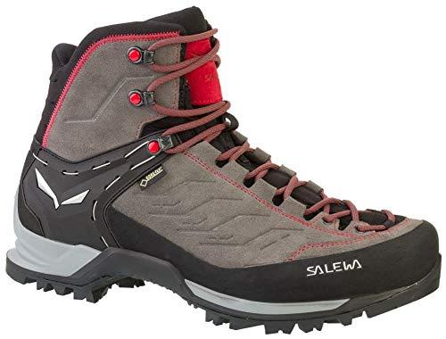Salewa Ms Mtn Trainer Mid Gtx, Herren Trekking- & Wanderstiefel, Grau (Charcoal / Papavero 4720), 43 EU