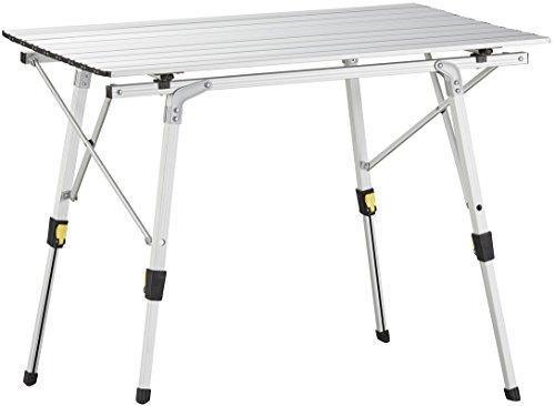 Uquip Variety M Aluminium Falttisch für 4 Personen Höhenverstellbar (89x53cm)