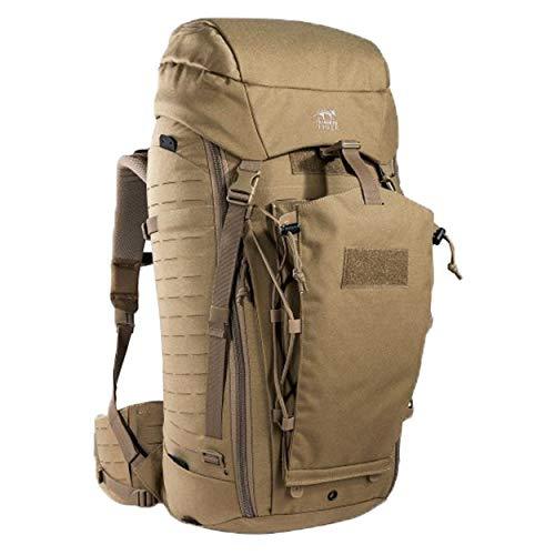 Tasmanian Tiger TT Rucksack Modular Pack 45+ Molle-Kompatibler Backpacker Wander-Rucksack Abschließbar 50L Volumen, Khaki