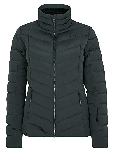 Ziener Damen Talma Ski Winter-Jacke | Warm, Atmungsaktiv, Wasserdicht, Schwarz, 34