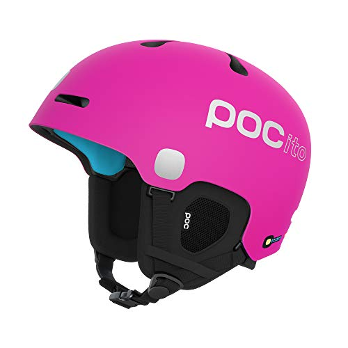POC Unisex-Youth POCito Fornix Spin Helm, Fluorescent Pink, XSS