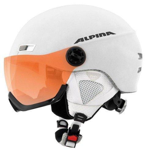 Alpina Skihelm Menga JV, White Matt, 55-59 cm, 9061213