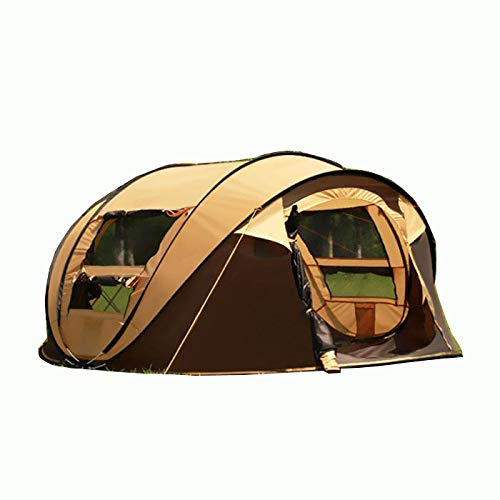thematys Pop Up Wurfzelt wasserdicht für 4-5 Personen - Robustes, ultraleichtes Igluzelt perfekt geeignet für Camping, Outdoor & Festival (Style 2)