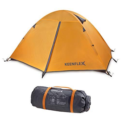 KeenFlex 2 Personen Camping Zelt Doppelwandig Ultraleicht