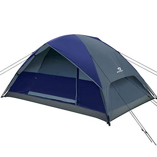 Bessport Zelt 2 Personen wasserdichte kuppelzelt 3-4 Saison Leichte Rucksack-Zelt für Camping, Wandern im Freien, Klettern, Angeln, Survival, oder Festival