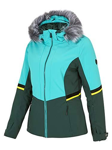 Ziener Damen Toyah LADY jacket Ski Snowboard-Jacke/atmungsaktiv, wasserdicht, Zebra Print, 34