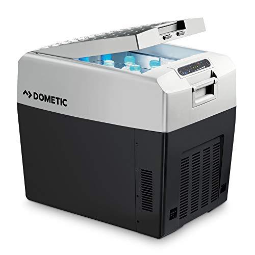 DOMETIC TropiCool TCX 35 - tragbare elektrische Kühlbox, 33 Liter, 12/24 V und 230 V für Auto, Lkw, Boot, Reisemobil und Steckdose