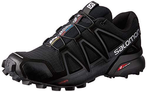 Salomon Damen Trail Running Schuhe, SPEEDCROSS 4 W, Farbe: schwarz (black/black/black metallic) Größe: EU 36
